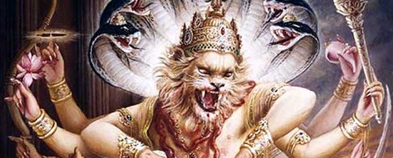 Glorious Appearance day of Lord Narasimha Dev